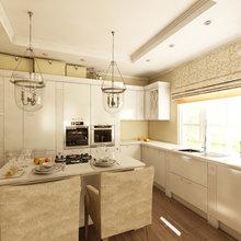 Фото из портфолио Дизайн дачного дома в пригороде Казани – фотографии дизайна интерьеров на InMyRoom.ru