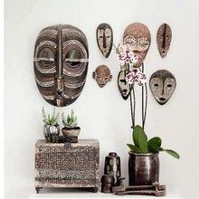 Фотография: Декор в стиле Эклектика, Декор интерьера, Квартира, Аксессуары, Советы, чем украсить пустую стену, идеи декора пустой стены – фото на InMyRoom.ru