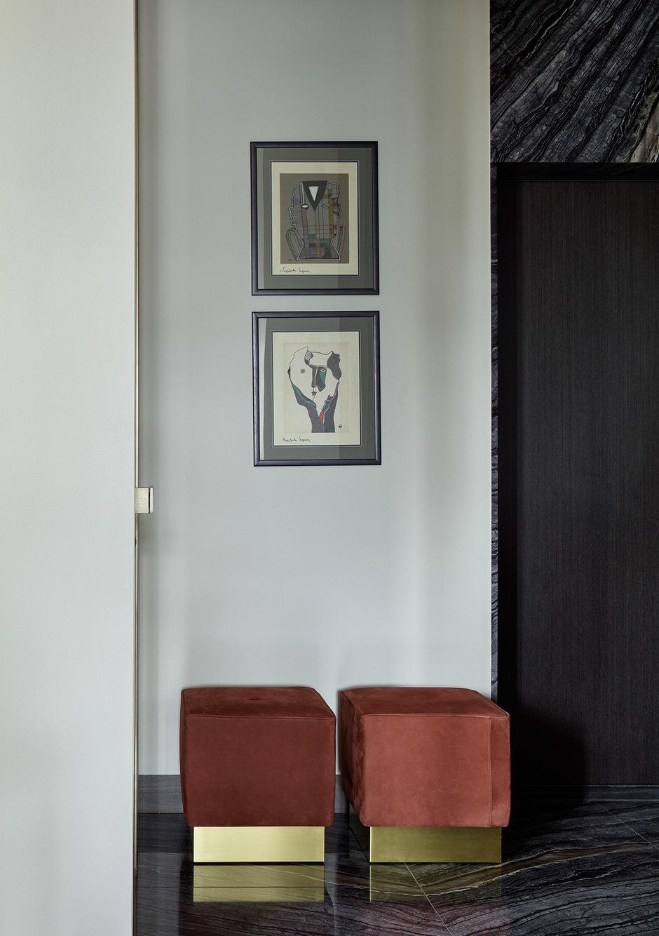 Фотография:  в стиле , Современный, Квартира, Москва, Ариана Ахмад, 4 и больше, Более 90 метров, Монолитно-кирпичный, #эксклюзивныепроекты – фото на InMyRoom.ru