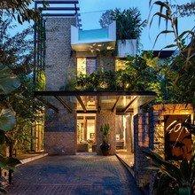 Фото из портфолио Бассейн на крыше и джунгли в гостиной – фотографии дизайна интерьеров на InMyRoom.ru