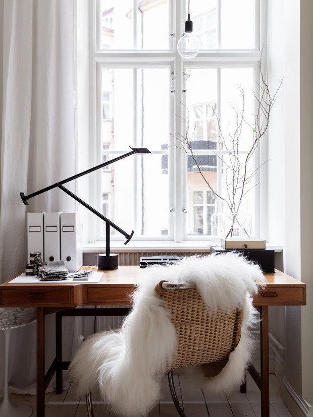 Фотография: Кабинет в стиле Скандинавский, Декор интерьера, Юлия Кауфельдт, карантин – фото на INMYROOM