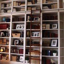 Фотография:  в стиле Лофт, Декор интерьера, Декор дома, Библиотека – фото на InMyRoom.ru