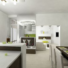 Фото из портфолио квартира ул. Любецкая, 38 – фотографии дизайна интерьеров на INMYROOM