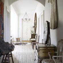 Фотография: Прихожая в стиле Кантри, Восточный, Эклектика, Дом, Дома и квартиры – фото на InMyRoom.ru
