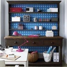 Фотография: Кабинет в стиле Скандинавский, Малогабаритная квартира – фото на InMyRoom.ru