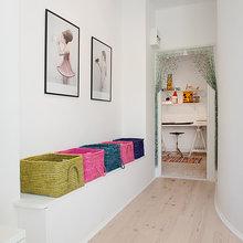 Фотография: Декор в стиле Скандинавский, Современный, Малогабаритная квартира, Квартира, Швеция, Мебель и свет, Дома и квартиры, Белый – фото на InMyRoom.ru