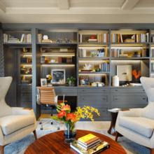 Фото из портфолио Современные идеи для домашнего офиса – фотографии дизайна интерьеров на INMYROOM