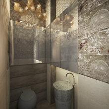 Фото из портфолио Проект квартиры в ЖК «Четыре Солнца» – фотографии дизайна интерьеров на InMyRoom.ru