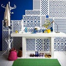 Фотография: Декор в стиле Кантри, Прихожая, Интерьер комнат, Ковер – фото на InMyRoom.ru