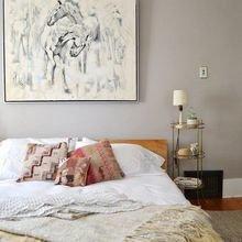 Фотография: Спальня в стиле Кантри, Скандинавский, DIY, Квартира, Советы, как облегчить быт – фото на InMyRoom.ru