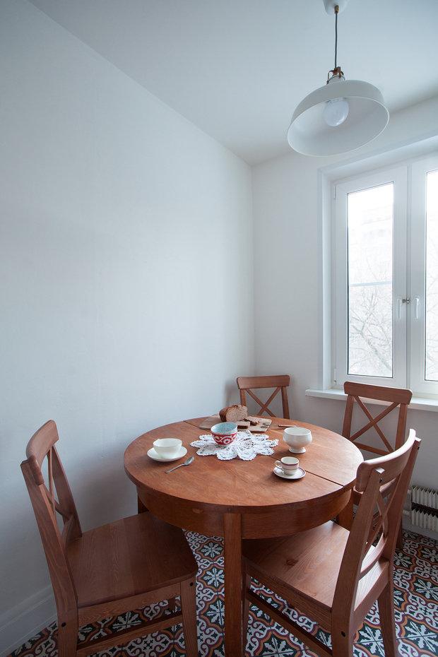 Фотография: Кухня и столовая в стиле Минимализм, Декор интерьера, Малогабаритная квартира, Советы, ИКЕА, Мария Жучкова – фото на InMyRoom.ru