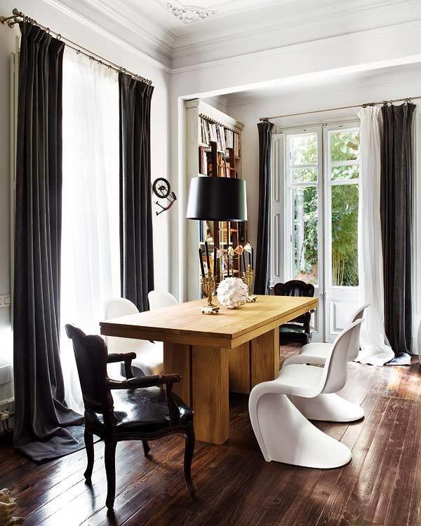 Фотография: Кухня и столовая в стиле Эклектика, Декор интерьера, Мебель и свет – фото на InMyRoom.ru