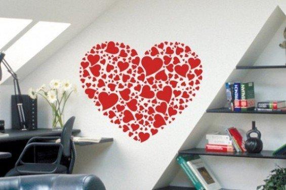Фотография: Кабинет в стиле Современный, Декор интерьера, DIY, Праздник, День святого Валентина – фото на InMyRoom.ru