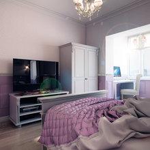 Фотография: Спальня в стиле Кантри, Квартира, Дома и квартиры, Прованс, Проект недели, Москва – фото на InMyRoom.ru