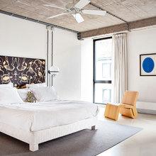 Фотография: Спальня в стиле Лофт, Дом, Дома и квартиры, Проект недели – фото на InMyRoom.ru