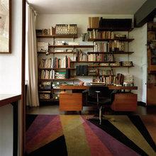Фотография: Офис в стиле Кантри, Декор интерьера, Мебель и свет, Цвет в интерьере, Ковер – фото на InMyRoom.ru