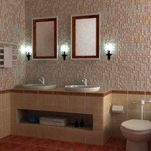 Фотография: Ванная в стиле  – фото на InMyRoom.ru