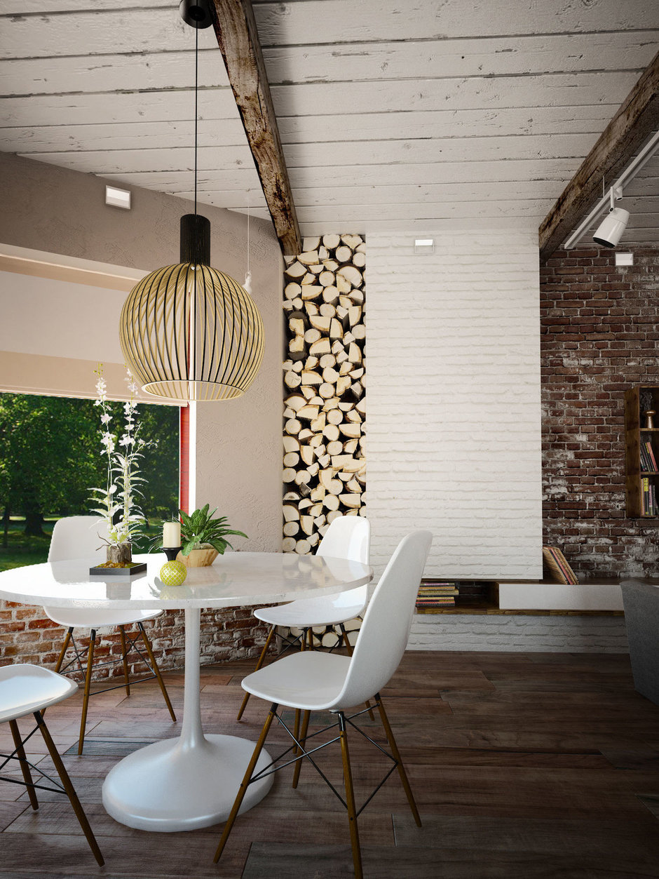 Фотография: Мебель и свет в стиле Лофт, Скандинавский, Квартира, Дом, Дома и квартиры, Проект недели – фото на InMyRoom.ru