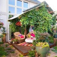 Фотография: Балкон, Терраса в стиле Кантри, Ландшафт, Стиль жизни – фото на InMyRoom.ru
