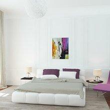Фото из портфолио Спальня white – фотографии дизайна интерьеров на InMyRoom.ru