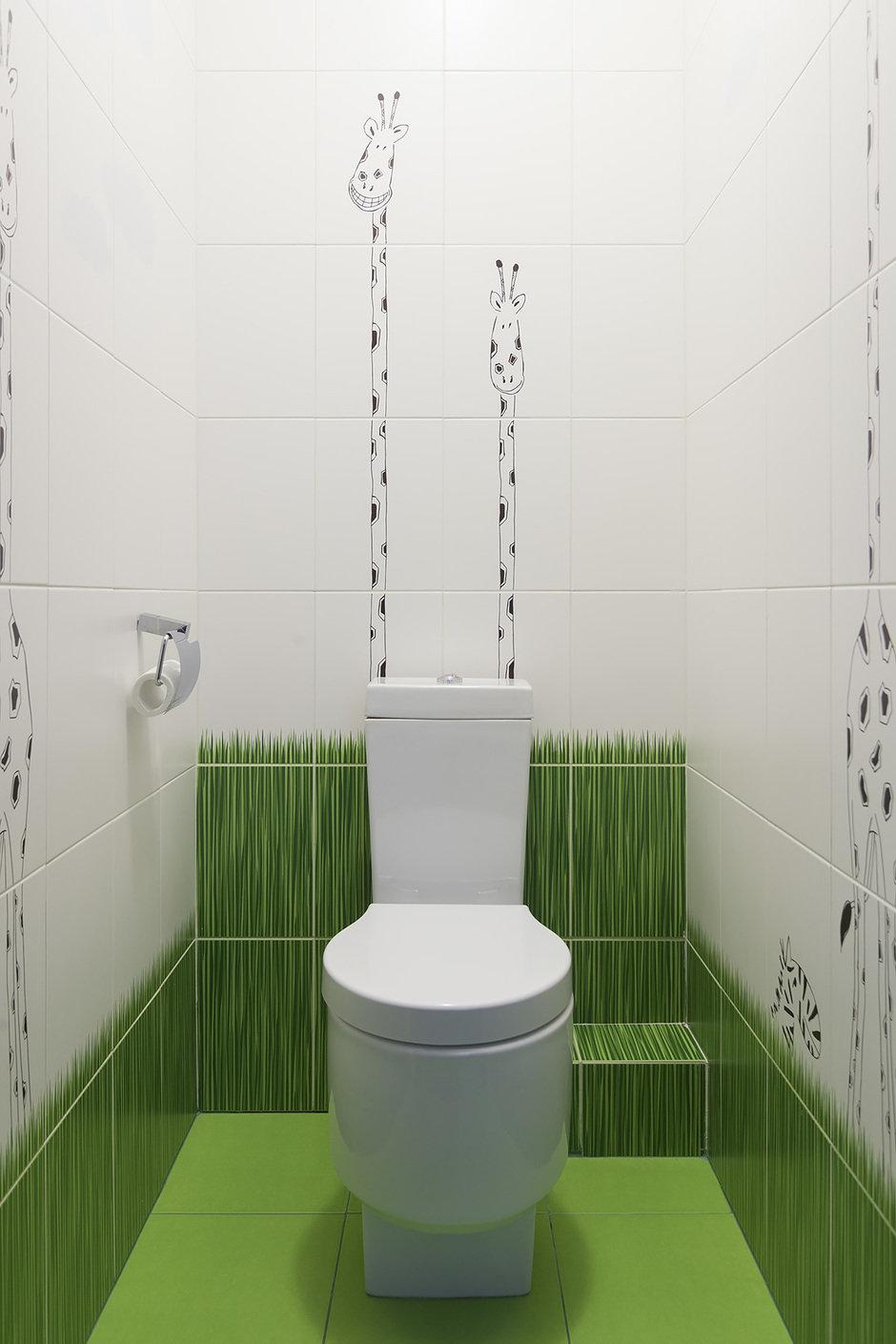 Фотография: Ванная в стиле Современный, Квартира, Проект недели, Москва, Монолитный дом, 3 комнаты, Более 90 метров, ЖК «Богородский», Дарья Лукина – фото на InMyRoom.ru
