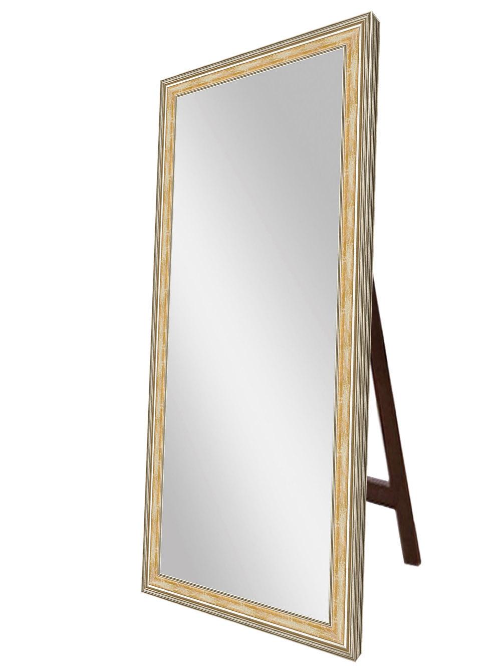 Купить Напольное зеркало Оранжевая флорес , inmyroom, Россия