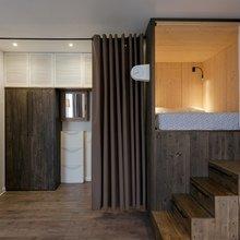 Фотография: Прихожая в стиле Минимализм, Малогабаритная квартира, Квартира, Студия, Проект недели, до 40 метров – фото на InMyRoom.ru