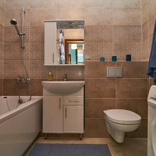 Фото из портфолио 1-но комнатная квартира (44.10 m²) – фотографии дизайна интерьеров на INMYROOM