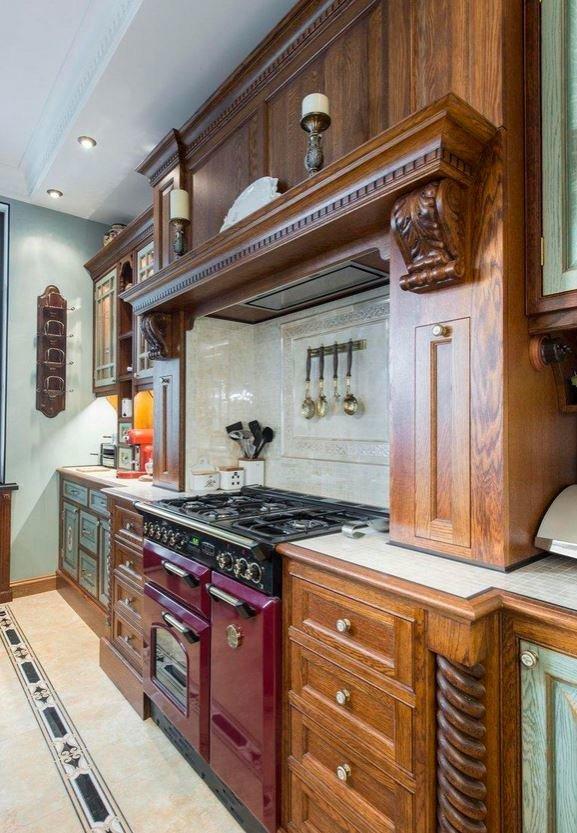Фото из портфолио Кухня для художницы в английском стиле  – фотографии дизайна интерьеров на INMYROOM