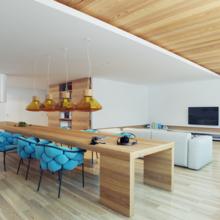 Фотография: Кухня и столовая в стиле Современный, Хай-тек, Квартира, Дома и квартиры – фото на InMyRoom.ru