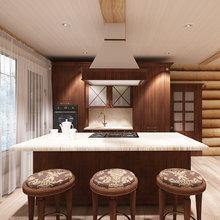 Фото из портфолио Пристройка кухня-гостиная в частном доме – фотографии дизайна интерьеров на InMyRoom.ru