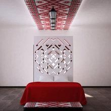 Фото из портфолио Вышиванка – фотографии дизайна интерьеров на InMyRoom.ru