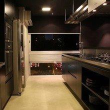 Фотография: Кухня и столовая в стиле Лофт, Современный, Квартира, Дома и квартиры, Сан-Паулу – фото на InMyRoom.ru