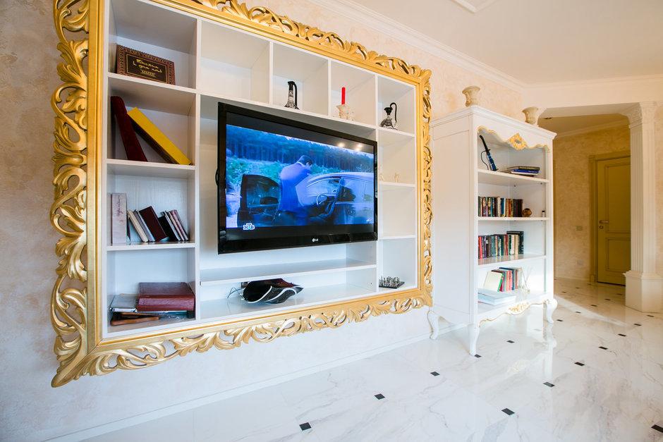 Фотография:  в стиле , Классический, Квартира, Россия, Проект недели, Санкт-Петербург, Мария Василенко, дизайн двухкомнатной квартиры в классическом стиле, интерьер двухкомнатной квартиры в новостройке, как сделать гардеробную в двушке – фото на InMyRoom.ru