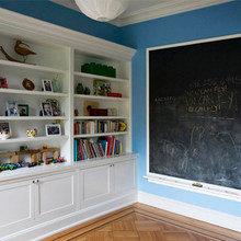 Фотография: Детская в стиле Скандинавский, Дом, Дома и квартиры, Перепланировка, Нью-Йорк – фото на InMyRoom.ru