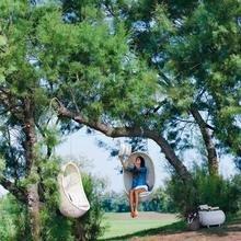 Фотография: Ландшафт в стиле Кантри, Современный, Декор интерьера, Мебель и свет, Дача, Кресло, Для дачи и сада – фото на InMyRoom.ru
