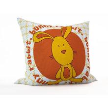 Детская подушка: Рыжий зайка