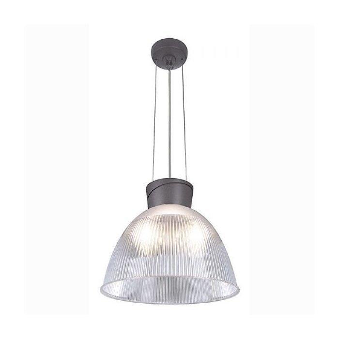 Светильник подвесной с ПРА SLV Para Dome антрацит / прозрачный