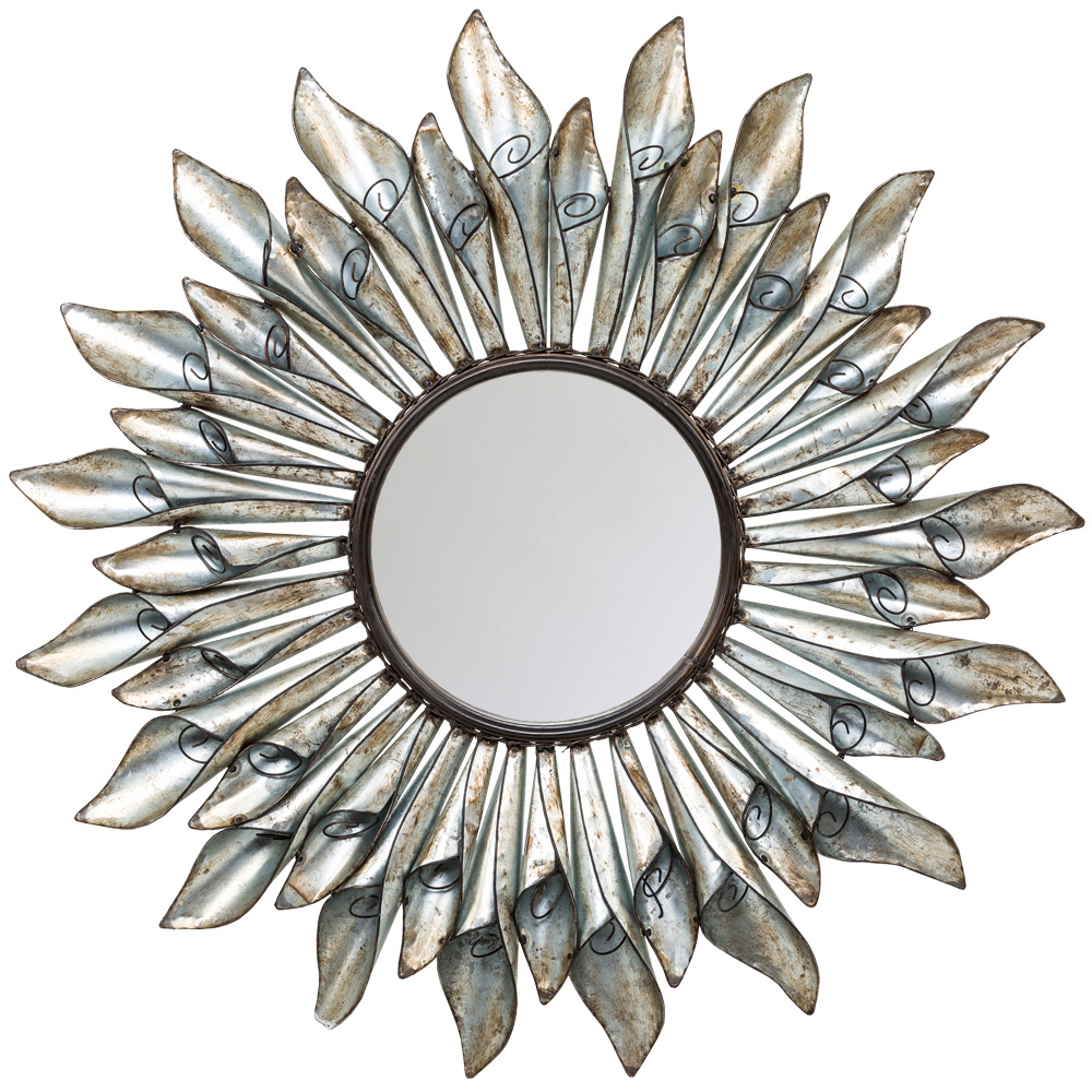 Купить Настенное зеркало лозанна в виде цветка, inmyroom, Россия