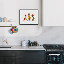 Фотография: Кухня и столовая в стиле Современный, Декор интерьера, Декор, Декор дома, Современное искусство – фото на InMyRoom.ru