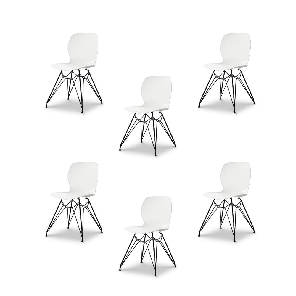 Купить Набор из шести стульев на металлических ножках, inmyroom, Китай