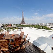 Фотография: Балкон, Терраса в стиле Классический, Современный – фото на InMyRoom.ru