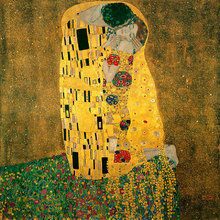Картина (репродукция, постер): Der Kuss - Густав Климт