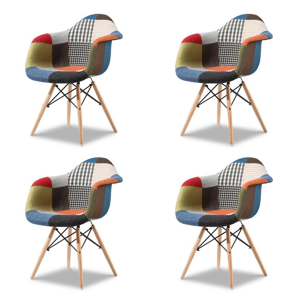 Купить Набор из четырех стульев Patchwork, inmyroom, Китай