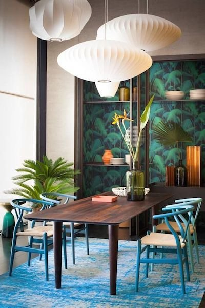 Фотография: Кухня и столовая в стиле Современный, Восточный, Декор интерьера, Декор дома, Плетеная мебель – фото на InMyRoom.ru