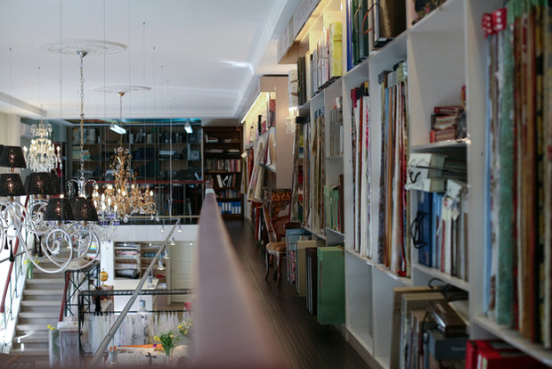 Фотография: Кухня и столовая в стиле Прованс и Кантри, Текстиль, Индустрия, События, Ткани – фото на InMyRoom.ru