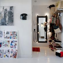 Фотография: Прихожая в стиле Скандинавский, Кантри, Малогабаритная квартира, Квартира, Дома и квартиры, Стокгольм – фото на InMyRoom.ru