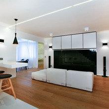 Фотография: Гостиная в стиле Современный, Декор интерьера, Интерьер комнат, Дачный ответ – фото на InMyRoom.ru