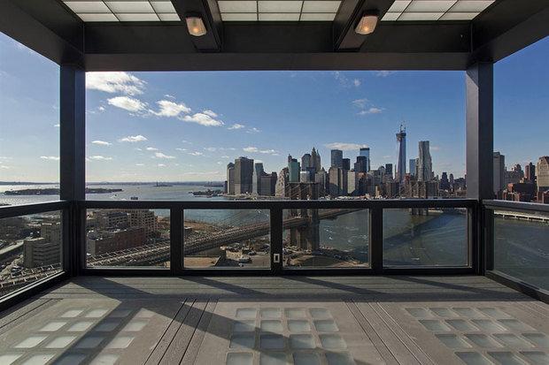 Фотография: Балкон, Терраса в стиле Современный, Декор интерьера, Квартира, Дом, Дома и квартиры, Нью-Йорк, Пентхаус – фото на InMyRoom.ru