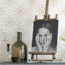 Фотография: Декор в стиле Кантри, Современный, Декор интерьера, Дизайн интерьера, Цвет в интерьере, Обои, Стены, Эко – фото на InMyRoom.ru